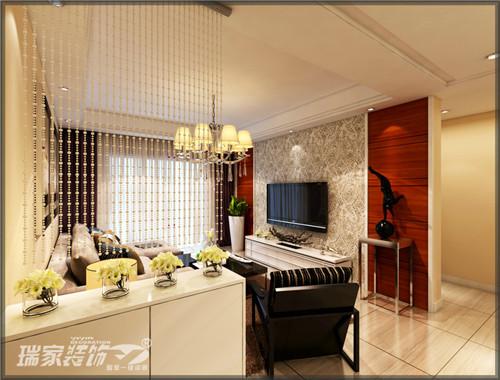 文一云河湾三室现代简约风格装修效果图 2015设计解析高清图片
