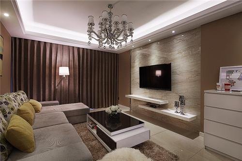 现代风两个男的图片_100平现代简约装修风格两室两厅