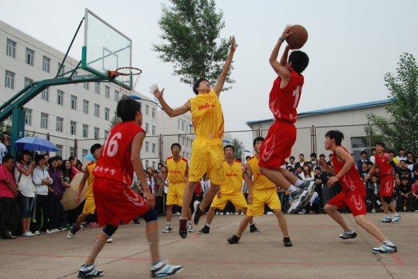 2015年天长市第四届中学生篮球赛 秦栏中学夺冠
