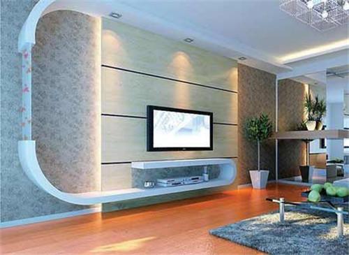 一个好的贴图墙纸墙起到装修装修作用,提亮整个家居的点睛电视.欧式背景房女孩品位图片