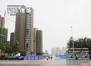淮北翠峰南路工程进行中 加速相濉同城化进程