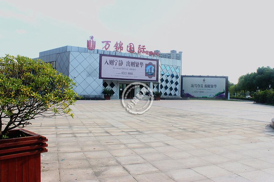 小编看房:万锦国际二期基础桩施工中