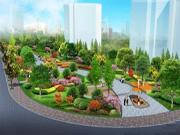 蚌埠市今年城区九个街头游园已经兴建完成