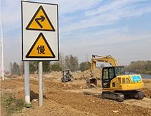 界首路11月最新工程进度  北侧第二段开始维修