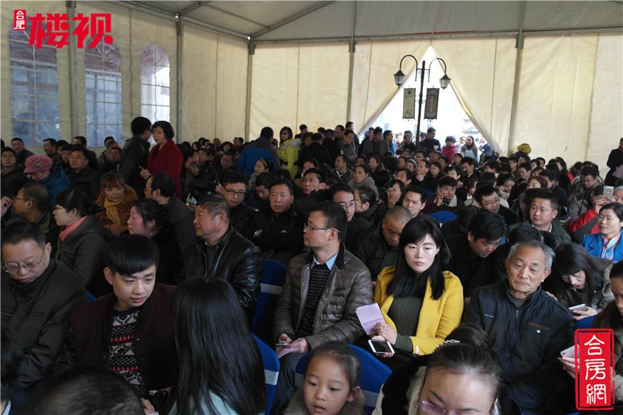 图集|中铁滨湖名邸:二期产权车位火爆开盘