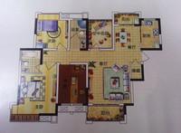 单盘解析:【塞纳河畔】三室大花园