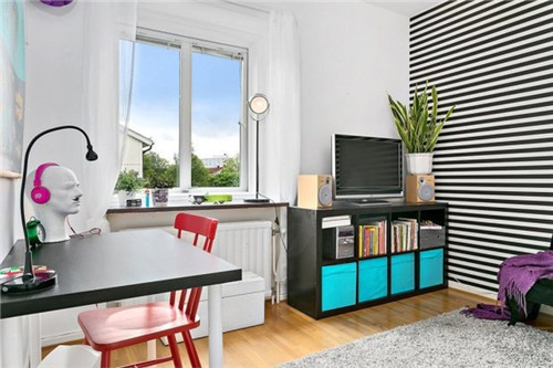 北欧风60平米公寓装修效果图大全2015图片图片