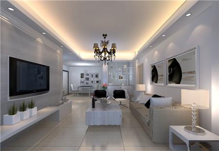 2015现代客厅装修效果图大全 8090舒适家高清图片