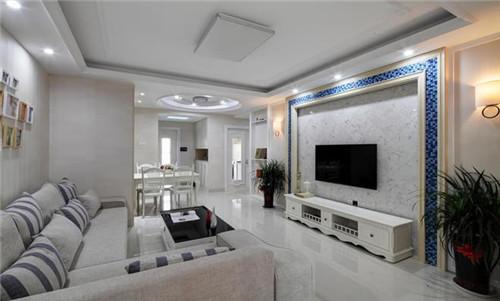 130㎡三室两厅欧式风格装修效果图大全2015图片图片