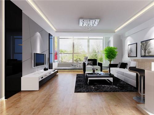 2015新房装修,客厅,电视背景墙,壁纸装修大全 简欧风
