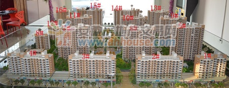 其中一期1#,2#,5#,6#,9#,10#,13#,14#八栋楼已经面世.图片