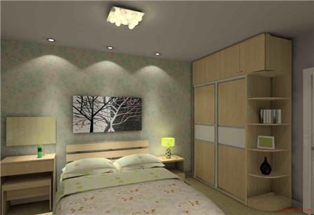 2016小清新卧室装修效果图大全,温馨壁纸典雅家庭装修