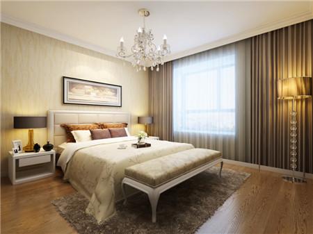 小户型家庭卧室装修设计效果图2015图片大全 简单温馨
