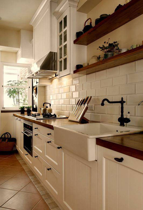 2015厨房装修效果图大全图片 生活化装修