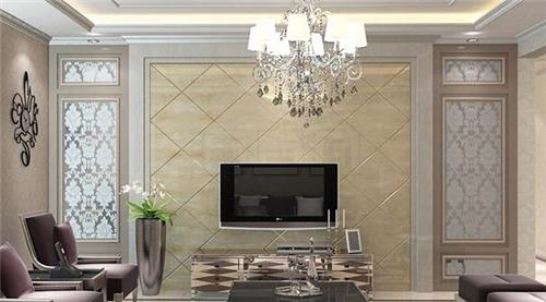 欧式客厅电视背景墙装修效果图 尽享欧式奢华风格图片