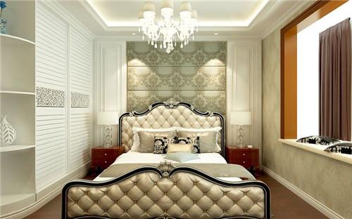 床头背景墙石膏板造型凹凸图片