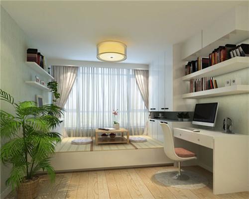 2015小户型装修设计效果图 客厅卧室装修效果图图片