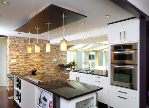 欧式厨房装修效果图大全2015图片欣赏图片