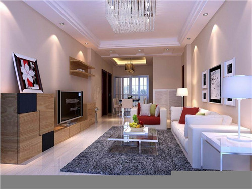 现代简约客厅装修效果图2015图片 小户型最迷人