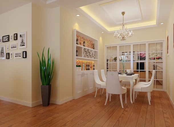 93平米家庭装修效果图2015图片大全 家装时尚秀高清图片
