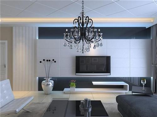 现代简约风格电视背景墙装修效果图大全和简约电视背景墙装修设计图片