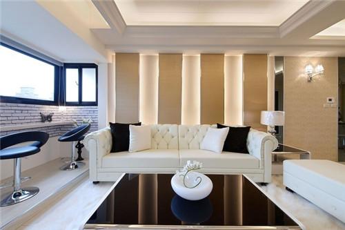 140平现代简约风格婚房装修效果图大全2015图片高清图片