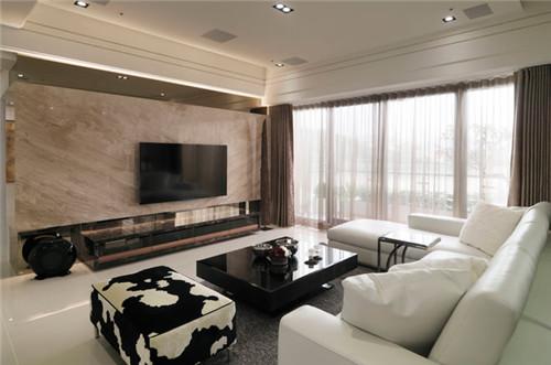 132平米现代风格装修效果图大全2015图片 精致三室图片