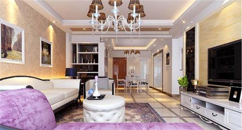 93平米家庭装修效果图2015图片大全 浪漫新家高清图片