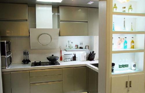 2015小巧厨房卫生间装修效果图大全图片 巧妙小生活