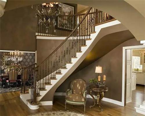 *楼梯实景设计 别墅,洋房,跃层,loft效果图图片