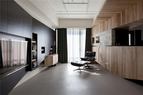 酷雅时尚小公寓装修效果图大全2015图片-合房网