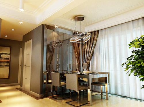2016新房装修客厅餐厅背景墙装修效果图大全高清图片
