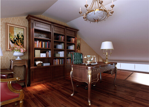 新房书房装修效果图大全2015图片