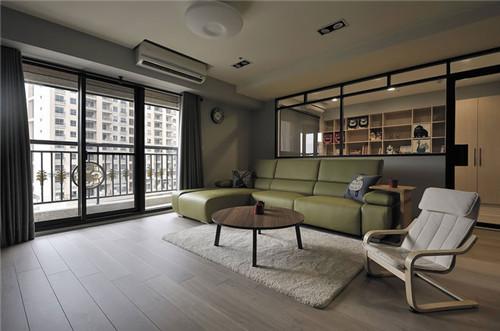 北欧风格装修效果图大全2015图片 将原主卧房改为穿透式书房,并调整图片