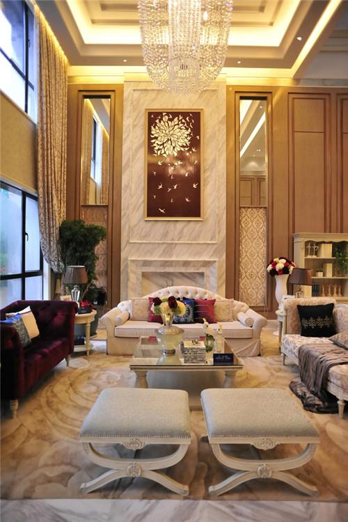 法式风格高端别墅装修效果图大全2015图片图片