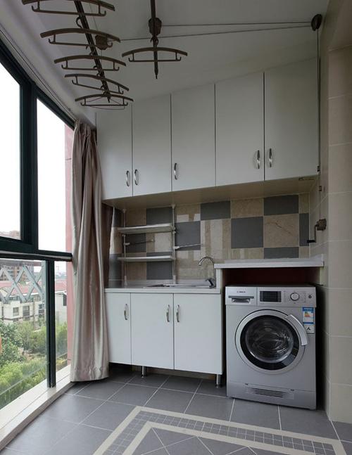 厨房小阳台装修效果图