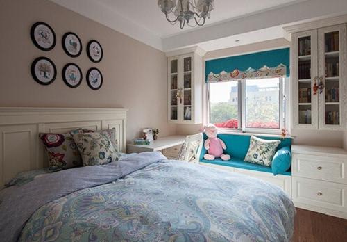 户型卧室飘窗装修效果图大全2015图片