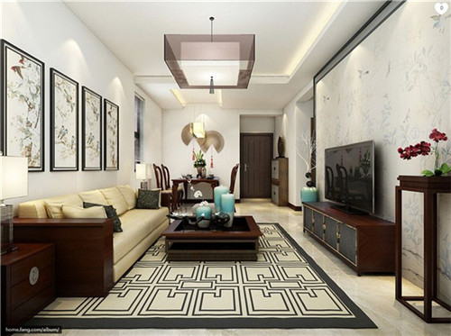 10款客厅装修推荐 客厅是主人与客人会面的地方,也是房子的门面.