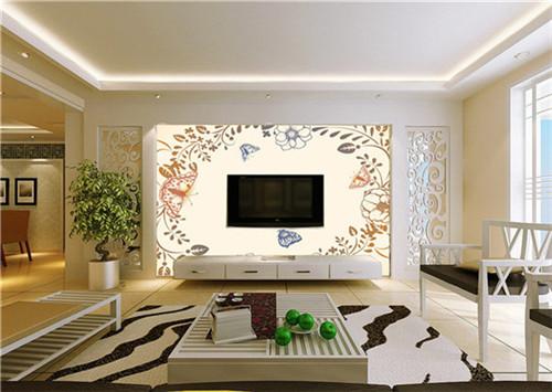 2015年欧式风格客厅电视背景墙 时尚大气图片