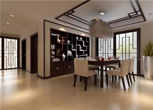 现代新中式风格客厅装修案例效果图 小户型中式借鉴高清图片