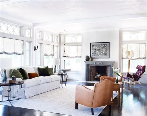 简欧客厅装修效果图 简欧风格已成2016流行趋势高清图片