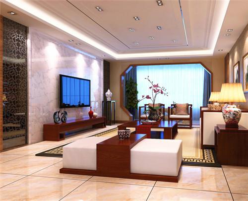 大气新房客厅装修效果图赏析,温馨客厅布置
