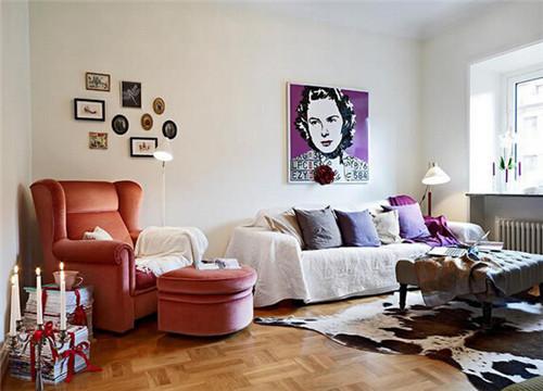 经典小户型客厅装修实景图2015图片图片