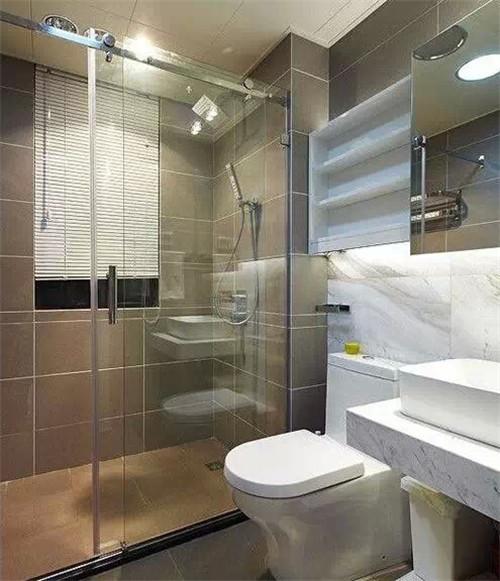 小户型卫生间装修效果图大全2015图片 合房网