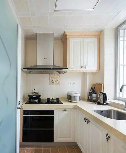 2015冬季小户型厨房装修效果图大全