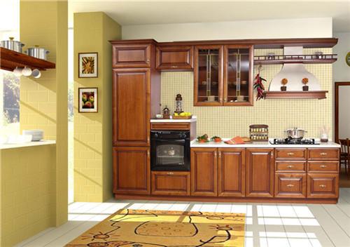 2015年度新款开放式厨房装修效果图小户型设计欣赏图片