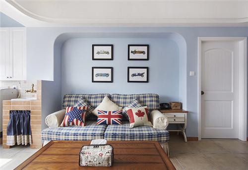 时尚暖色两居室装修效果图案例赏析,冬日暖暖家装