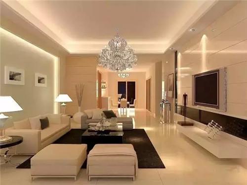 款流行现代客厅背景装修效果图2015 小户型客厅装修