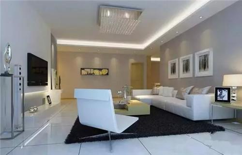 *款流行现代客厅背景装修效果图2015 小户型客厅装修