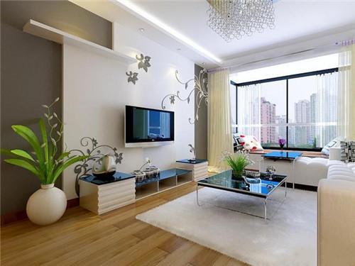客厅装修效果图-客厅墙纸壁纸效果图欣赏